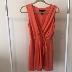 Isabel Lu Size S, Jersey Wrap Front Cocktail Dress